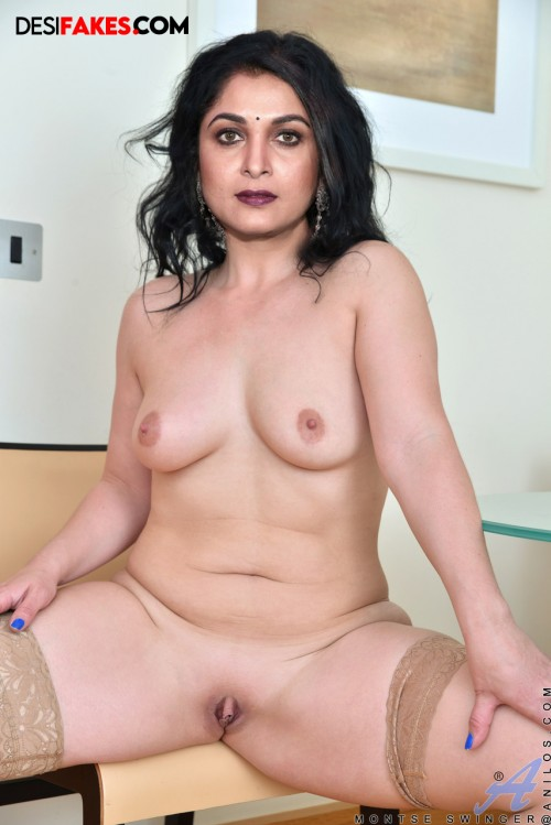 Ramya Krishna Nude fake