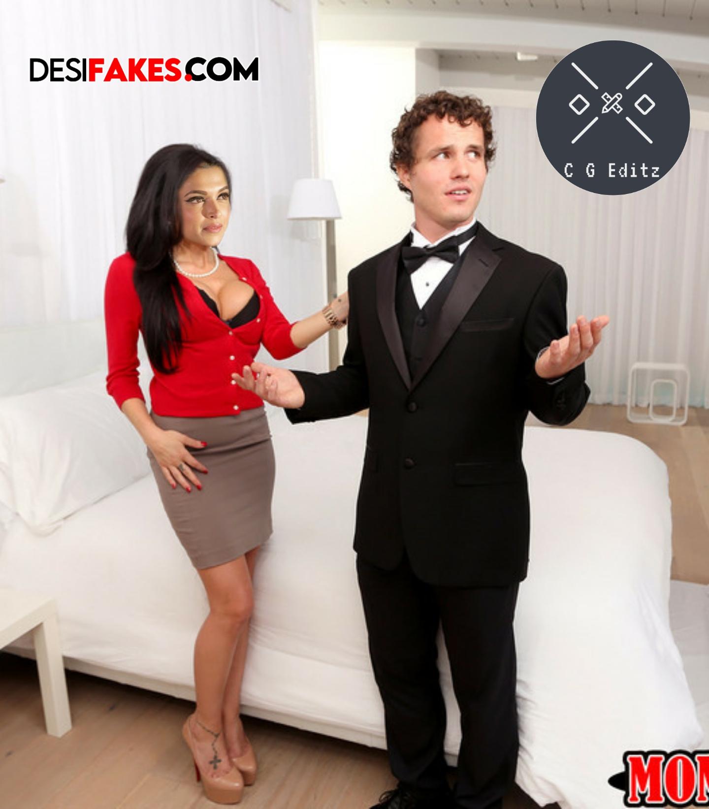 Deepika hot cleavage